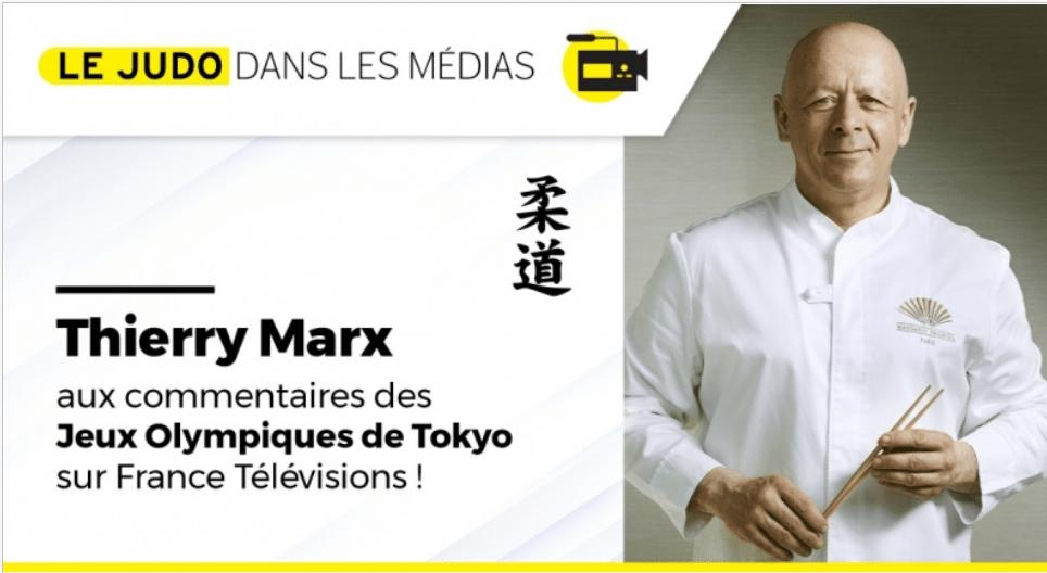 Thierry Marx, chef cuisinier de renom et ceinture noire de judo